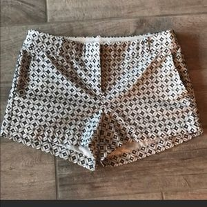J Crew lined shorts